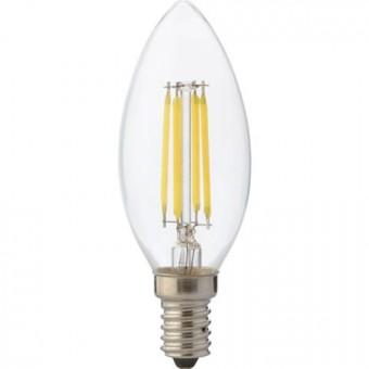 """Лампа Светодиодная """"Filament candle - 4""""4W свеча Е14 4200К"""
