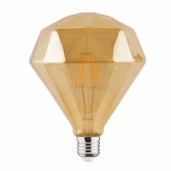 """Лампа  """"RUSTIC DIAMOND-6"""" 6W Filament led 2200К  E27"""