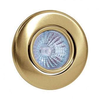 Светильник точечный золото HL 750 MR16