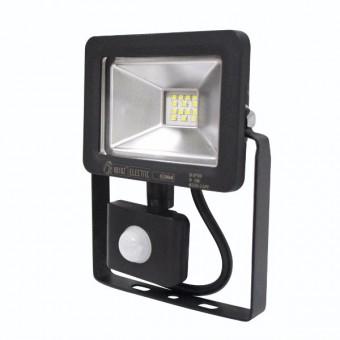 """Прожектор светодиодный с датчиком """"PUMA/S-10"""" 10W 6400K"""