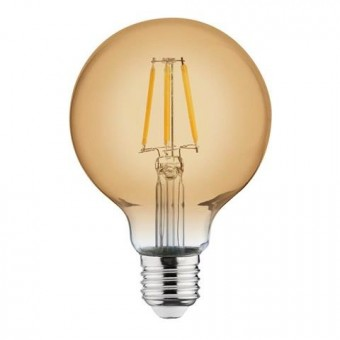 """Лампа  """"RUSTIC GLOBE-4"""""""" 4W Filament led 2200К  E27"""