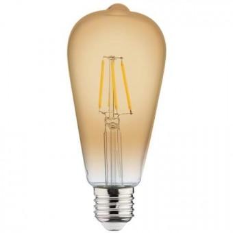 "Лампа  ""RUSTIC VINTAGE-6"" 6W Filament led 2200К  E27"