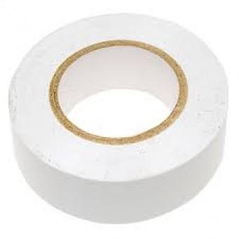 Лента изоляционная ПВХ 20мм белая