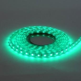 """Лента светлодиодная """"VOLGA"""" (220-240V) влагозащищенная зеленая"""