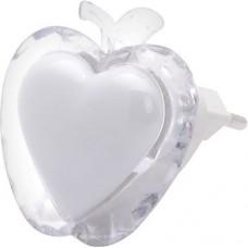 "Ночник LED ""BUGS"" яблуко белый"