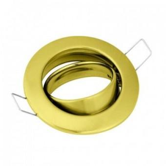 Светильник точечный поворотный LAVANTA золотой