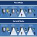 """Светильник фасадный на солнечной батарее 2Вт """"SOLARIS-1"""""""