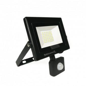 """Прожектор светодиодный с датчиком """"PARS/S-30"""" 30W 6400K"""