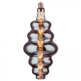 Лампа Filament led ORIGAMI 8W E27 2400К титан