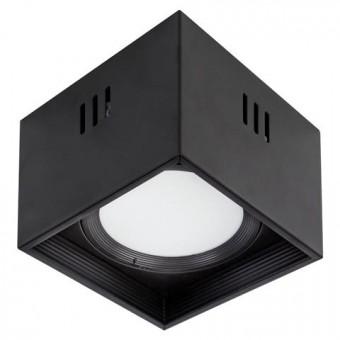 """Светильник  накладной квадрат. """"SANDRA-SQ15/XL"""" 15W 4200K черный"""